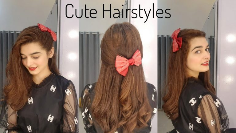 Cute Hairstyles For Girls    3 Quick & Easy Hair Tutorialsz 1