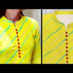 Collar Neck Design || Kurti Collar Neck Easy Cutting and Stitching || Neck Design @RR Fashion Point 3