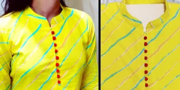 Collar Neck Design || Kurti Collar Neck Easy Cutting and Stitching || Neck Design @RR Fashion Point 20