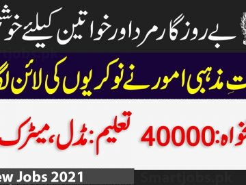 New Jobs in New Ministry of Religious Affairs and Interfaith Harmony Jobs 2021