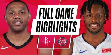 ROCKETS at PISTONS   FULL GAME HIGHLIGHTS   January 22, 2021