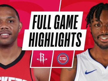 ROCKETS at PISTONS | FULL GAME HIGHLIGHTS | January 22, 2021