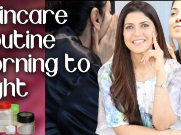 My Winter Natural Skincare Routine Morning to Night - Ghazal Siddique