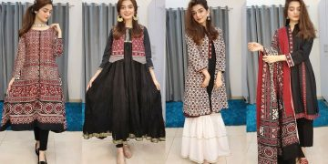 Ajrak Dress Designs || Styling Ajrak In multiple Ways || Affordable 6