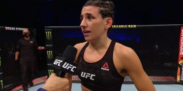 UFC 257: Marina Rodriguez Octagon Interview