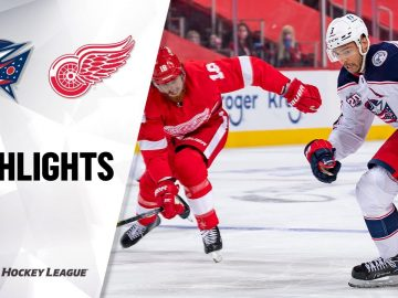 NHL Highlights | Blue Jackets at Red Wings 1/18/21