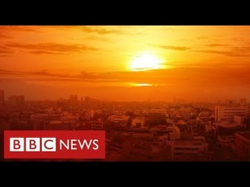 "Planet on course for ""catastrophic"" rise in temperatures say scientists- BBC News"