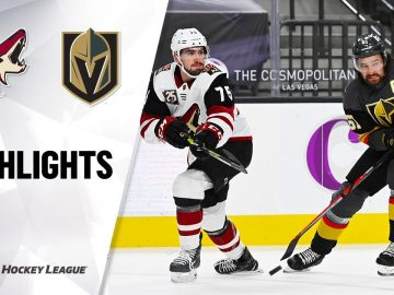 NHL Highlights | Coyotes @ Golden Knights 1/18/21