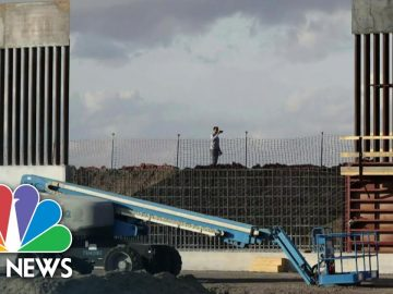Trump Makes Final Visit As President To Border Wall | NBC News NOW