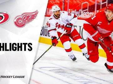 NHL Highlights | Hurricanes @ Red Wings 01/14/21