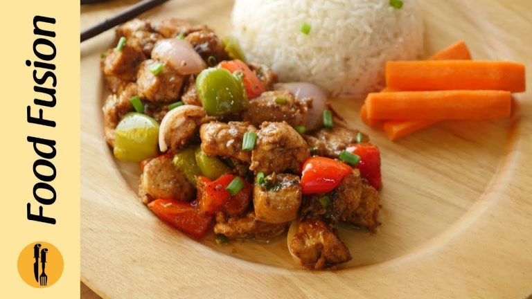 Black pepper Chicken Recipe By Food Fusion