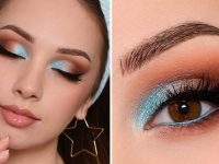 AFFORDABLE & WEARABLE Aqua Blue Smokey Eye Makeup Tutorial