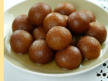 Gulab Jamun quick, easy & authentic Recipe learn how to make at home By Food Fusion