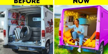 We bought an old Mercedes Van to make a Camper and here's what happened