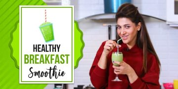 Healthy Breakfast Smoothie | Sana Fakhar 9