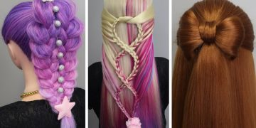 8 Cute & Easy Summer Hairstyles 👌 Best Hairstyles for Girls 2