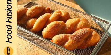 Twisted Korean Donuts Recipe By Food Fusion