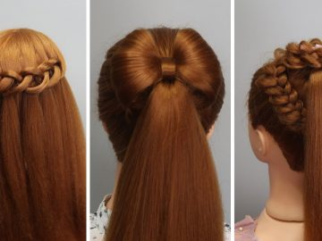 6 Amazing Hair Transformations - Easy Beautiful Hairstyles Tutorials 🌺 Best Hairstyles for Girls 3