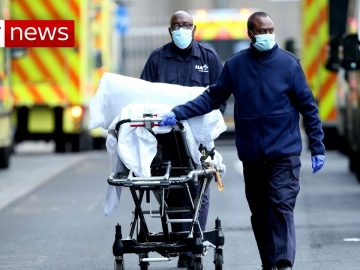 COVID-19: UK records highest number of deaths in one day