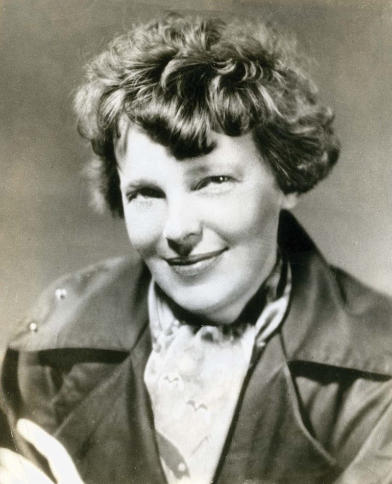 Amelia Earhart, American aviation pioneer and author. 1