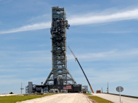 NASA Test of Mega Moon Rocket Engines Cut Short Unexpectedly 11
