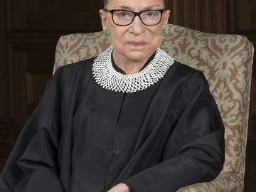 Second female Justice Ruth Bader Ginsburg 12