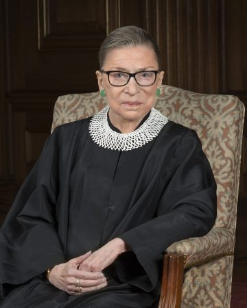 Second female Justice Ruth Bader Ginsburg 15