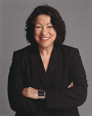 Sonia Sotomayor, Associate Justice of the Supreme Court of the US. 9