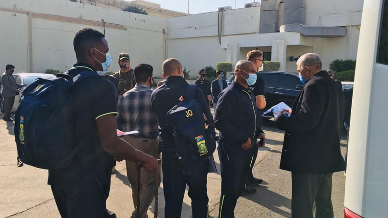 South Africa cricket team's first tour of Pakistan in more than 13 years. 5