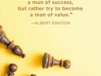 Try to become a man of value 22