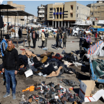 Twin suicide blasts in Baghdad leave 32 dead, 110 wounded 4