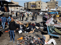 Twin suicide blasts in Baghdad leave 32 dead, 110 wounded 30
