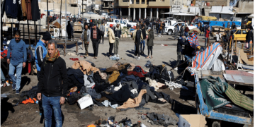 Twin suicide blasts in Baghdad leave 32 dead, 110 wounded 12