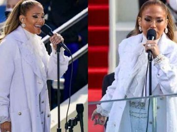 Jennifer Lopez performs at Biden's inauguration: What did she say in Spanish? 13