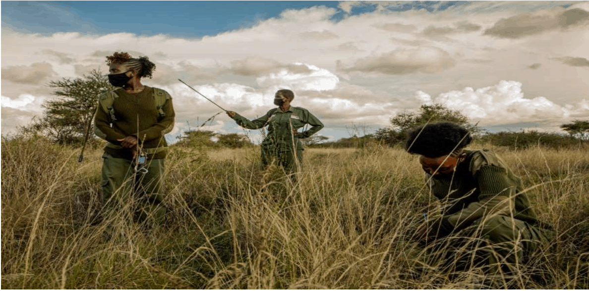 Team Lioness shakes up the ranks of Kenya's formerly all-male wildlife rangers 4