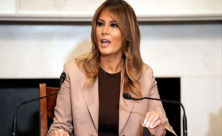 Melania Trump bids farewell to Be Best in new video 1
