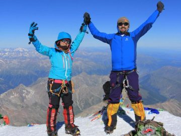 Samina Baig, Pakistani high-altitude mountaineer. 10