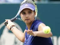 Sania Mirza, an Indian tennis star. 46
