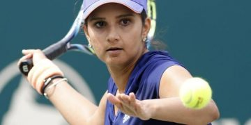 Sania Mirza, an Indian tennis star. 6