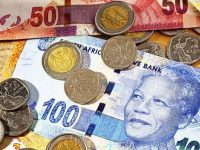 UPDATE 1-South African rand climbs 1%, stocks retreat from record highs 19