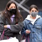 Tom Cruise's 14-Year-Old Daughter Suri with Mom Katie 3