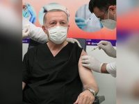 Turkey's Erdogan receives COVID-19 vaccine 31