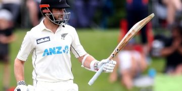 Kane Williamson underscored his ranking as the world's premier batsman with a masterful double century on a landmark 13