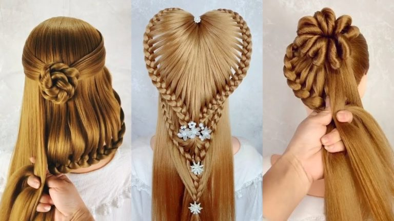 Braided Hairstyle 😱 30 Easy Braid Hairstyle Tutorial 👌 Hairstyles for Girls 1