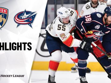 Panthers @ Blue Jackets 1/28/21 | NHL Highlights
