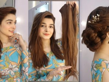 Hair Extensions || 2 Hairstyles || Ponytail+Joora For Weddings || How to apply? 7