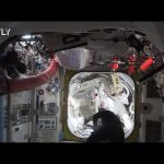 ISS expedition 64 astronauts perform spacewalk #70