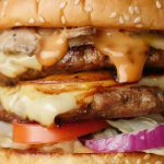 Double Patty Beef Burger with BBQ Burger Sauce Recipe by Food Fusion