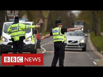 Police warn of tougher action to enforce lockdown rules in England - BBC News