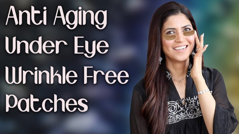 Natural Anti Aging Under Eye Patches for Youthful Skin / - Ghazal Siddique